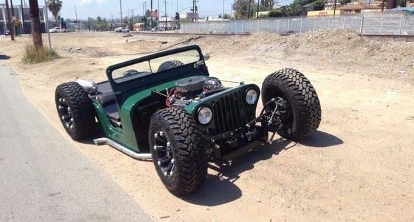 Willys Jeep Hotrod