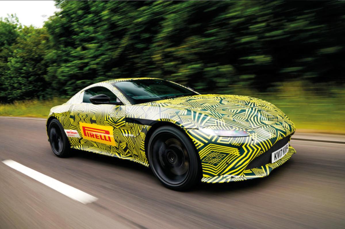 New Aston Vantage (Nearly)Revealed