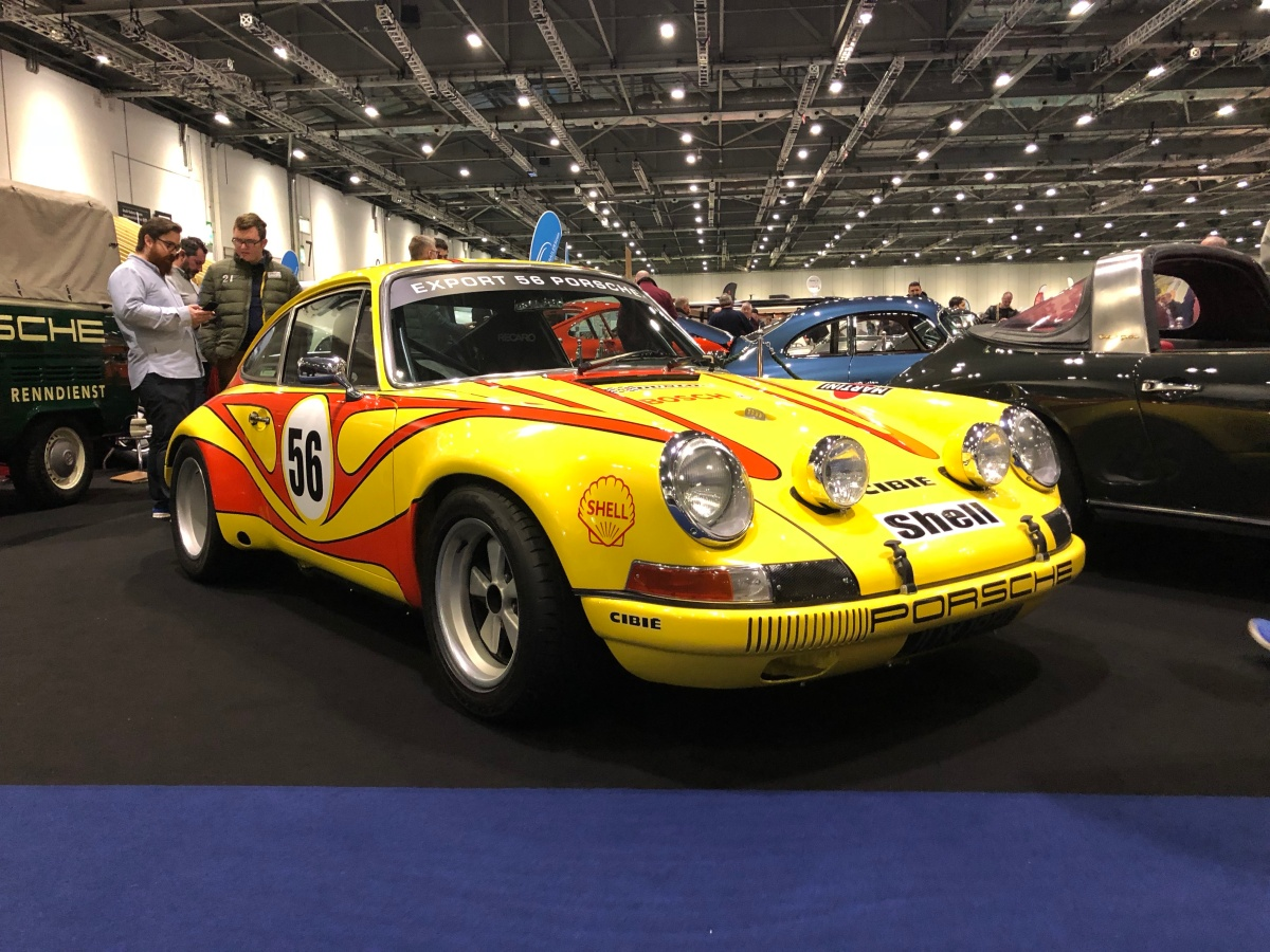 The London Classic Car Show 2018